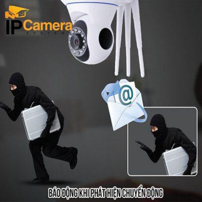 Camera yoosee 3 râu hỗ trợ phát hiện chuyển động cảnh báo qua email