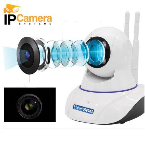 Ống kính 3.6mm giúp camera có khả năng quan sát rộng