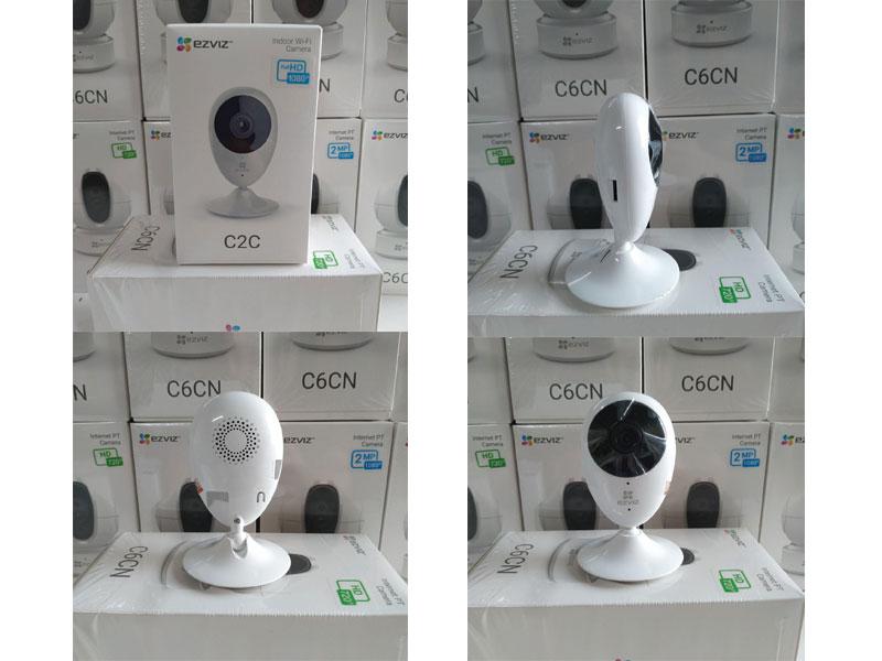 Camera wifi 2C2 trong nhà Ezviz CS-CV206 ( camera giọt nước ).