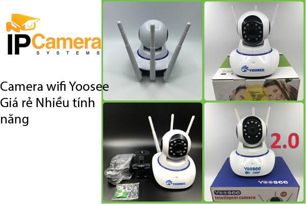 Camera Wifi Yoosee giá rẻ