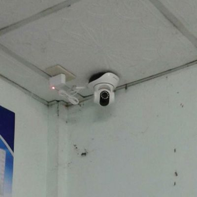 Lắp camera ốp trần