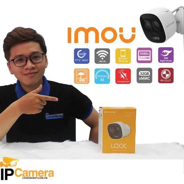 Thông số kỹ thuật Camera Imou IPC-C26EP