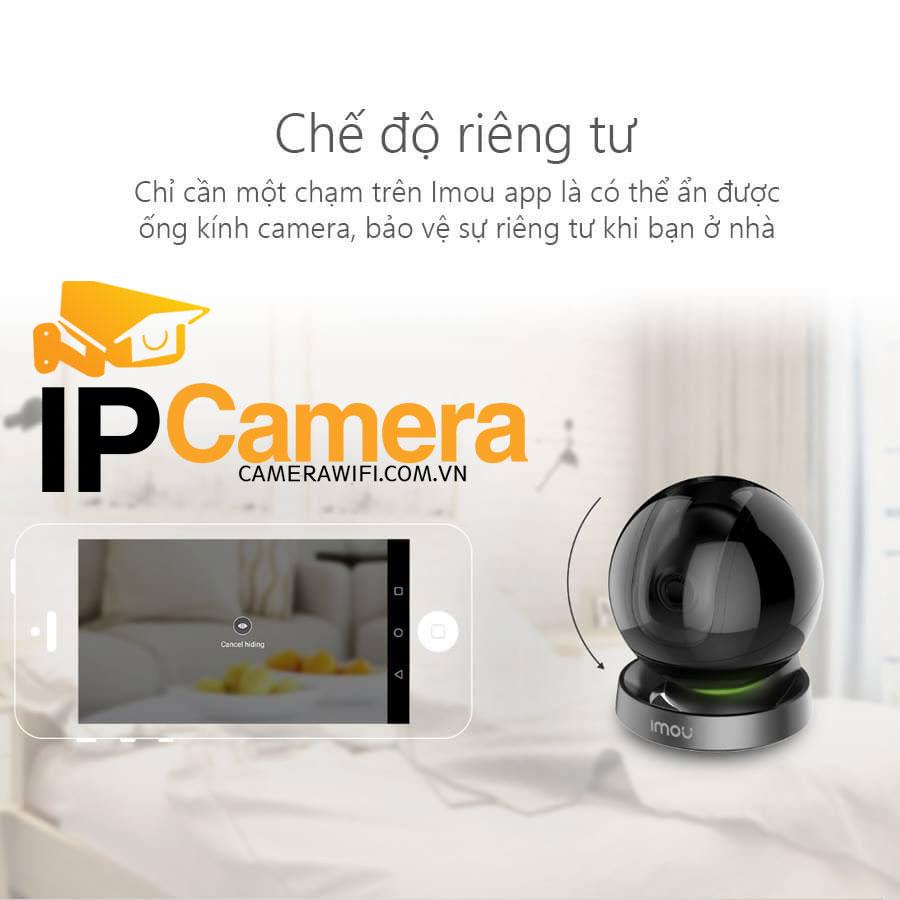 Tính năng đàm thoại xoay camera qua điện thoại