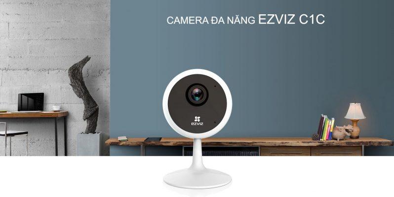 Camera Wifi Đa Năng EZVIZ CS-C1C 1080P và 720P
