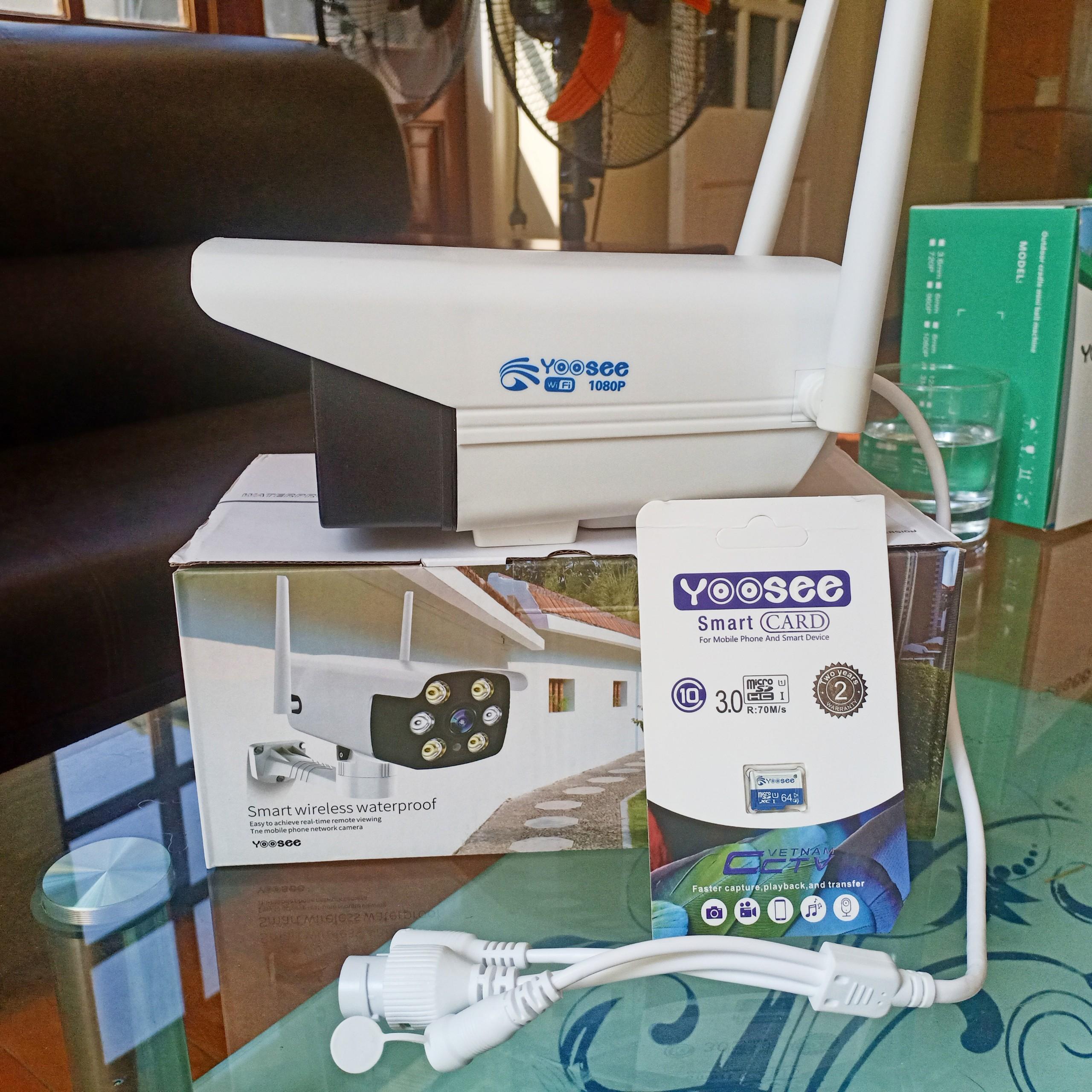 Ứng dụng Camera wifi thân ngoài trời Yoosee